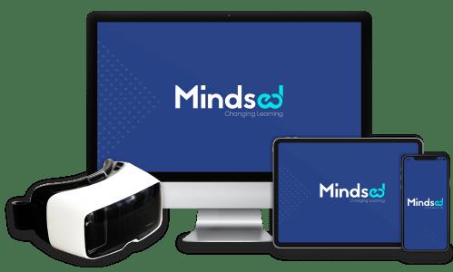Mindsed's platform on different devices besides VR glasses